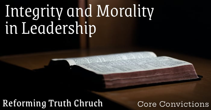 Integrity and Morality in Leadership