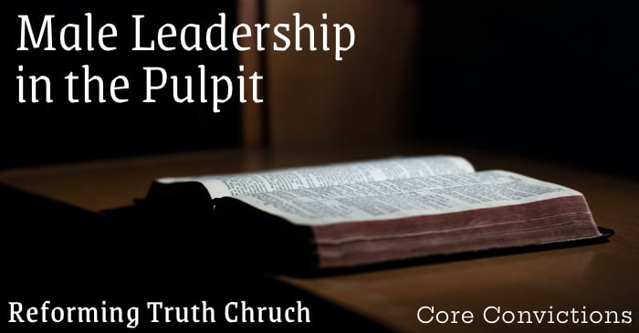 Male Leadership in the Pulpit